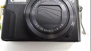 【レビュー】キャノン G7X markⅡ ファーストインプレッション。動画撮影が非常に使いやすいデジカメ。