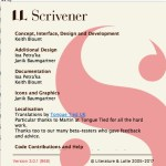 MacのScrivenerをバージョン3にアップデートする