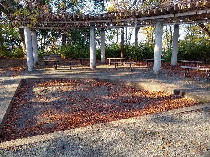 綱島公園砂場