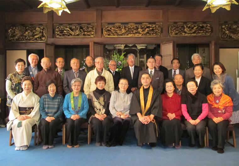 2014年 同朋の会 新年懇親会