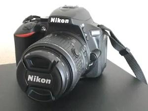 Nikon D5500一眼レフカメラ