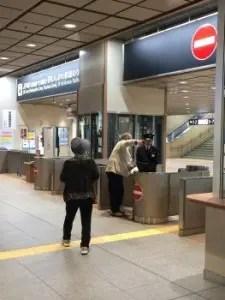北陸新幹線金沢改札