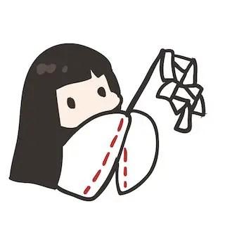 神社巫女さんお祓い