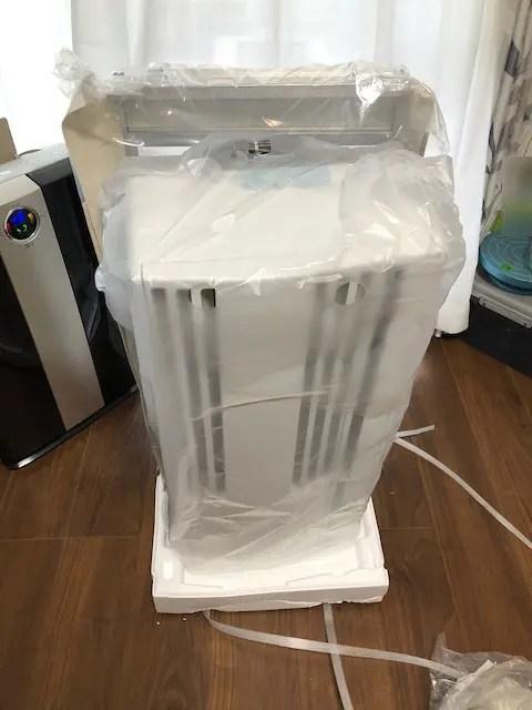 コロナCW-1621窓用エアコン設置手順&注意点11