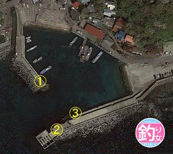 福浦漁港釣りポイント