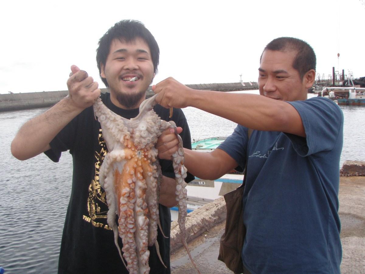 7月5日(日)の釣果(マダコ3.5kg含む50杯)