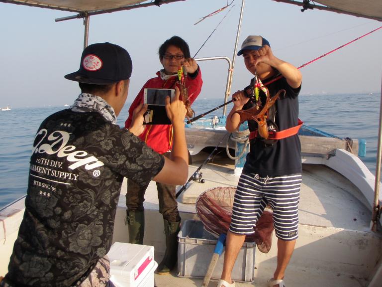 2016年6月27日 釣り船角田 明石タコ釣り-1画像