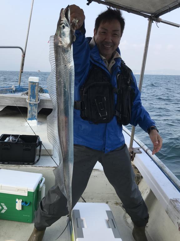 11月4日(土)の釣果(タチウオ)