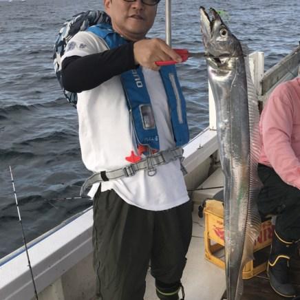 2019-9-8-タチウオ121cm