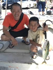 2019-9-14-メジロ・ハマチ船中21匹の釣果
