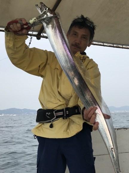2019-11-3-久しぶりに太刀魚テンヤ釣り