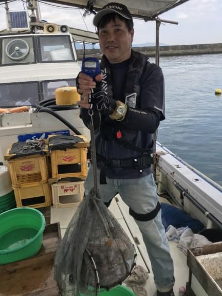 2020-6-22-マダコ釣果総重量12.52kg