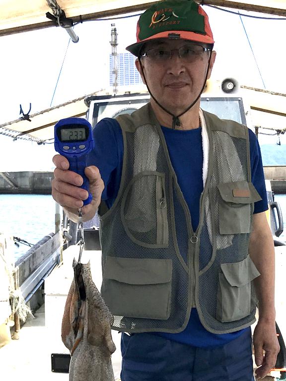 2020-7-2-マダコ2.33kg
