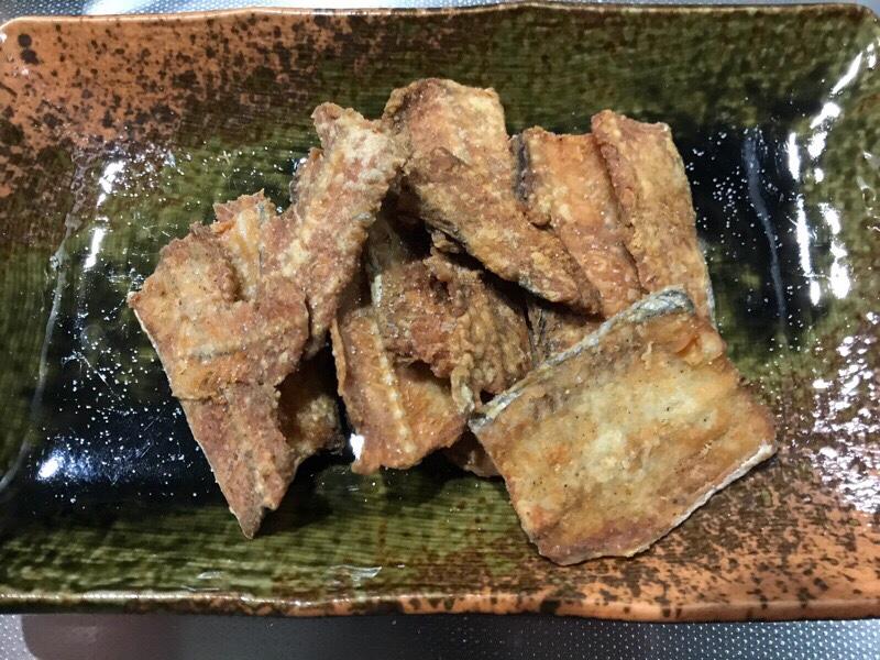 太刀魚の骨せんべいの作り方