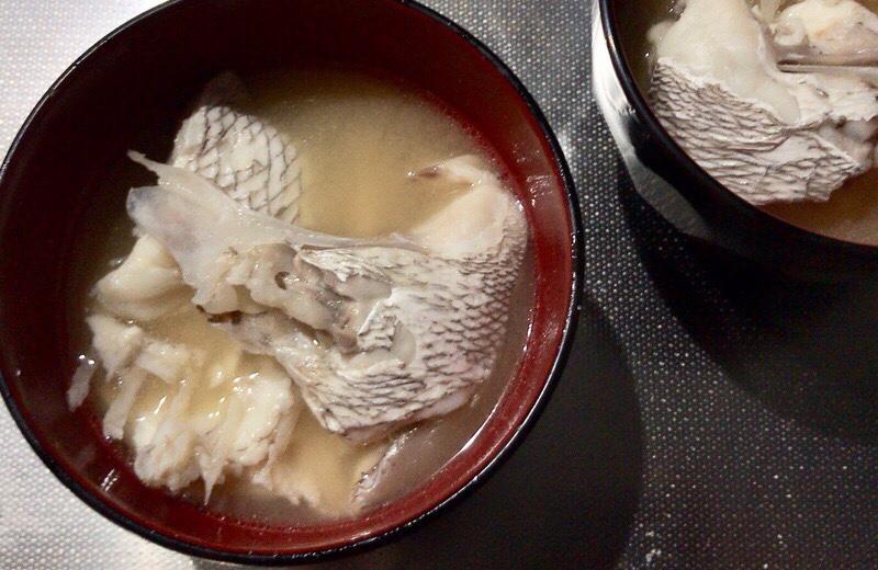 鯛のアラ汁 作り方