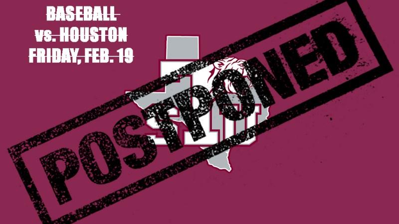 <div>Friday's Baseball Season Opener Postponed</div>