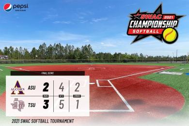 Reyes Strikes Out 11, Tate Hits 2 RBI As TSU Softball Wins Tourney Opener 3-2