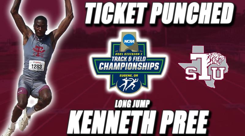 Pree Advances To Nationals In Long Jump, Earns First TSU Berth Since 2012