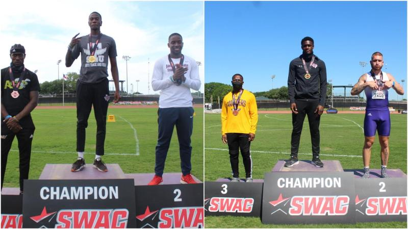 <div>Pree, Williams Win Individual Titles At SWAC Track & Field Championships</div>