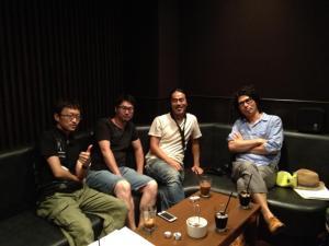 セクションチーム(photo by 足立くん)