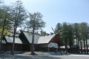 北海道神宮へお参りに