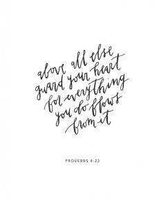 proverbs 4 23