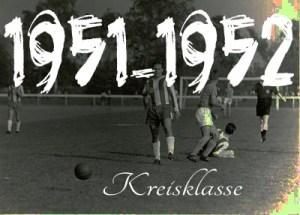 Fussball - 1951-52