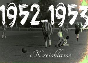 Fussball - 1952-53