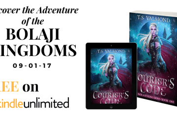 Discover the adventure The Courier's Code book and tablet versions Free on Kindle Unlimited image