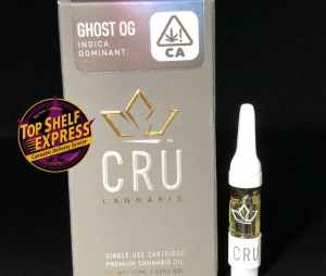 CRU – GHOST OG : Cart .75ml