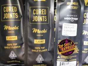 West Coast Cure Cured Joint – MOCHI : Joint 1g 23.9%THC .03%CBD