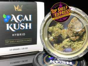 West Coast Cure – ACAI KUSH : Flower Can