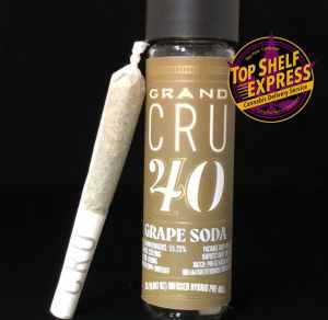 Grand CRU 40 – GRAPE SODA : Infused Pre Roll .5g