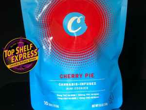 Cookies Edibles – CHERRY PIE : Cookies 100mg