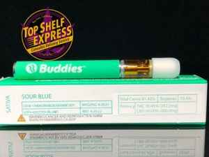Buddies – SOUR BLUE : All-In-One Cart .5g