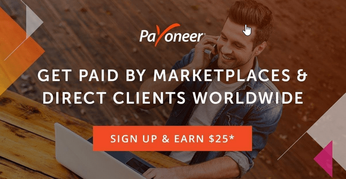 Get paid by Upwork