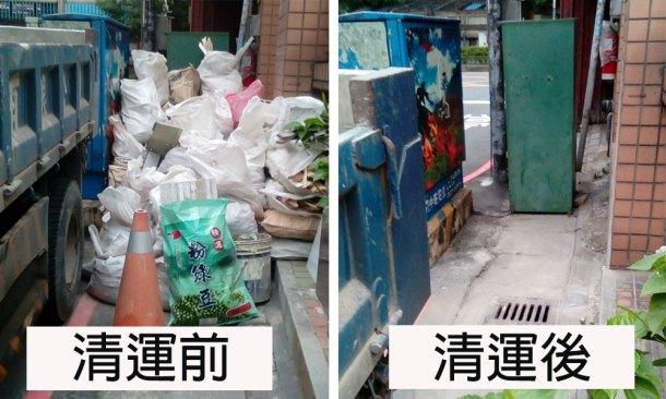 廢棄物清除:工作實況