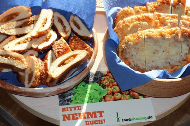 Verpflegung von Foodsharing