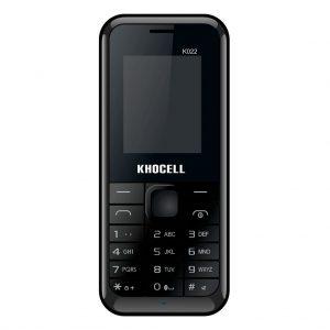 Khocell Khocell – K022 – Mobiele telefoon – Met prepaid – Zwart