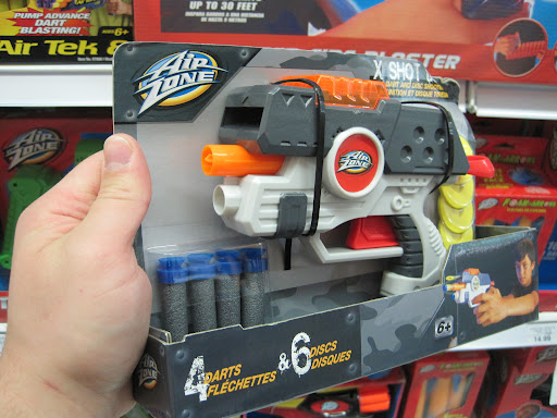 New Airzone Blasters Including Undermounted Arrow