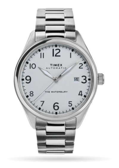 Times Waterbury steel bracelet