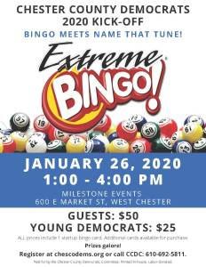 CCDC Bingo Night @ Milestone Events