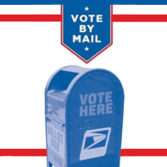 Vote At Home (By Mail)!