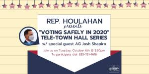 Voting Safely in 2020 Tele-Town Hall @ Phone