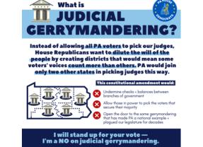 Say No to Judicial Gerrymandering