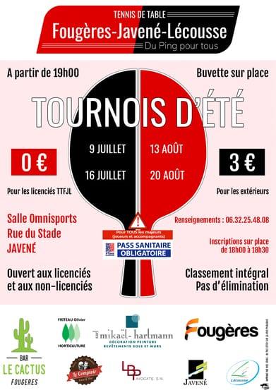 Read more about the article Tournois d'été 2021 – Modifications 2