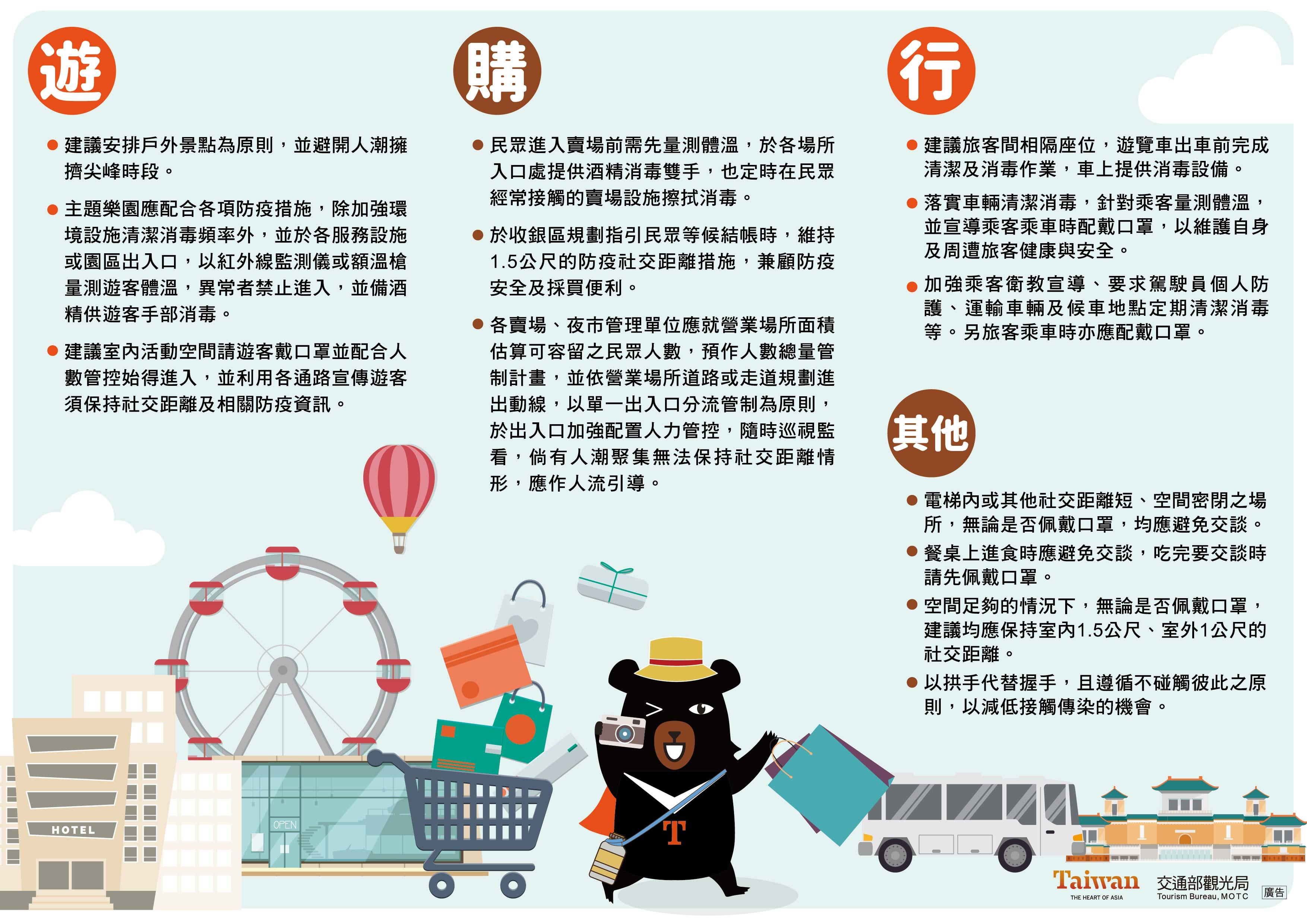 交通部觀光局-防疫旅遊參考守則 – 臺灣旅遊交流協會