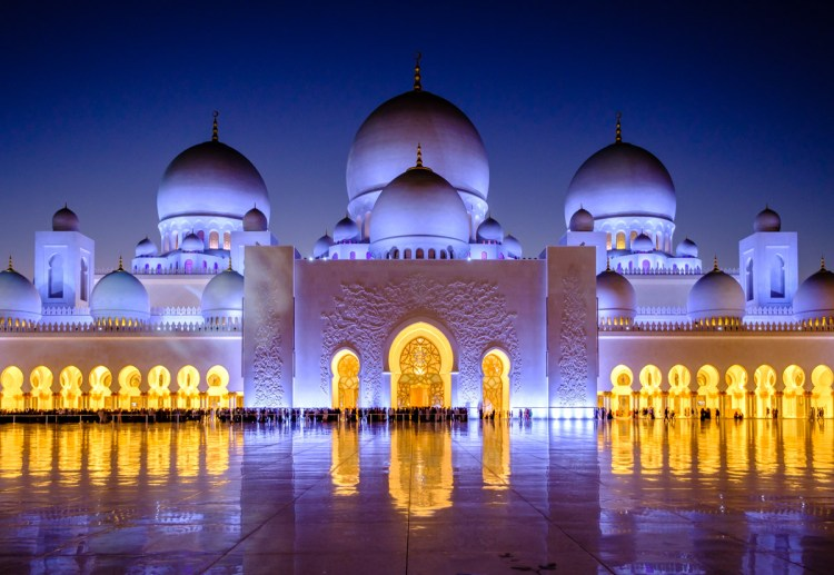 Sheik Zayed Grand Mosque, Abu Dhabi, UAE