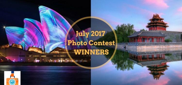 July 2017 Photo Contest Winners