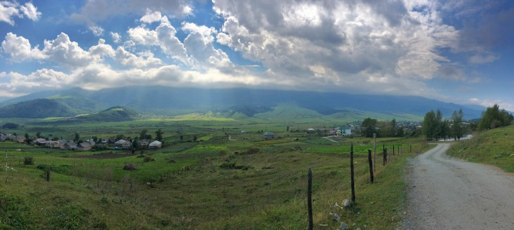 Pano Over Fioletovo, Armenia - Copyright 2018 Ralph Velasco